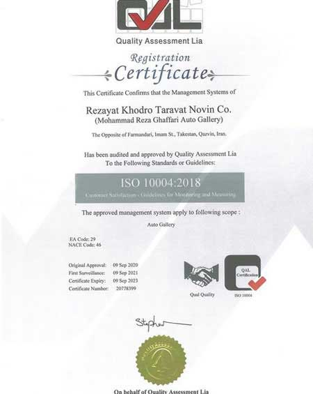 iso 10004-2018